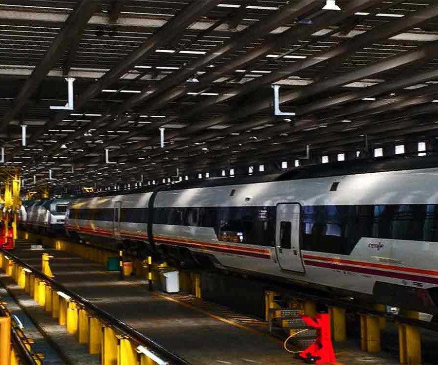 ENAGÁS: Puesta a punto eléctrica y de componentes varios de la locomotora 1656