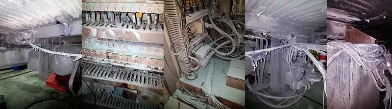 Daños por Incendio en armarios de control