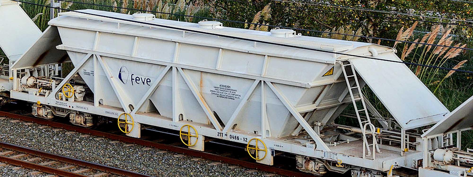 RENFE: Servicio de implantación de portaseñales y portadocumentos en 450 vagones de ancho métrico